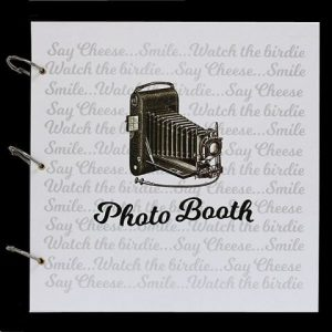 Photo Booth Camera Guestbook